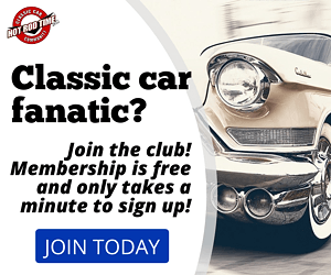 Classic car fanatic? Join today