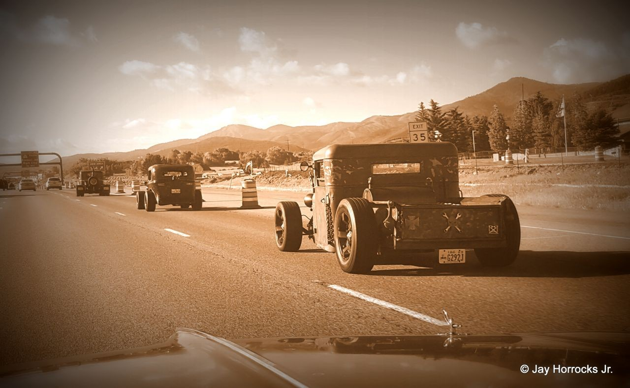 Back to the Country:  Old School Rodding in Woodruff, Utah.