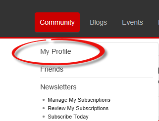 How do I add edit my profile? - News and blogs - Hot Rod Time editdetails1