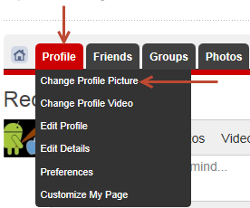 How do I change my profile picture? - News and blogs - Hot Rod Time profile1
