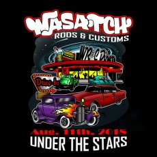 Pre-register for the 2018 Wasatch Rods and Customs Under the Stars Car Show
