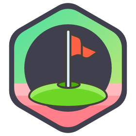 Badges - Hot Rod Time hole-in-one