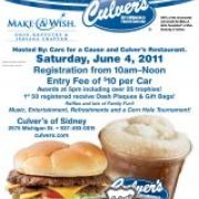 Cars For A Cause and Make A Wish Car Show