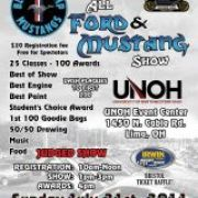 All Ford & Mustang Show @ UNOH