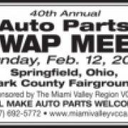 40th Annual Auto Parts Swap Meet