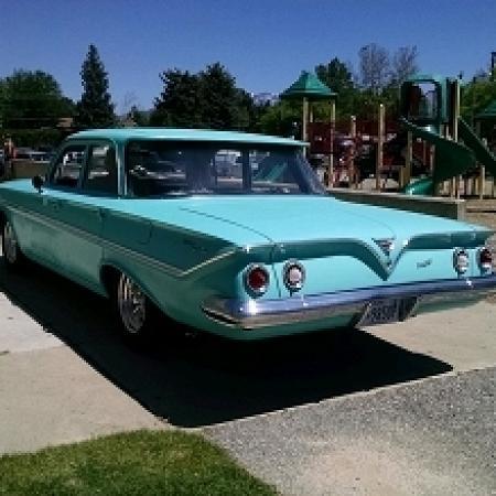 1961 Chevrolet BelAir bubble top