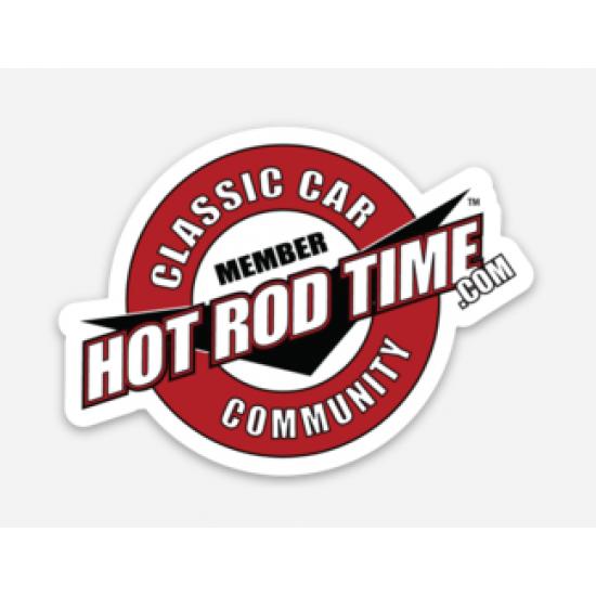 Hot Rod Time Member Sticker